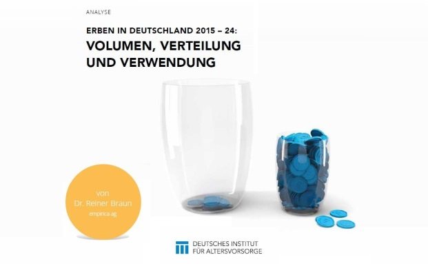Neue Studie zur Entwicklung von Erbschaften vom Deutschen Institut für Altersvorsorge|© DIA