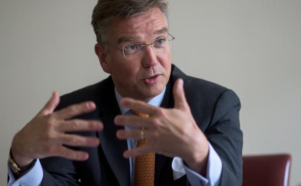 Thilo Wendenburg ist seit August 2014 Co-Vorsitzender der Geschäftsleitung der Privatbank Merck Finck & Co|© Joerg Koch