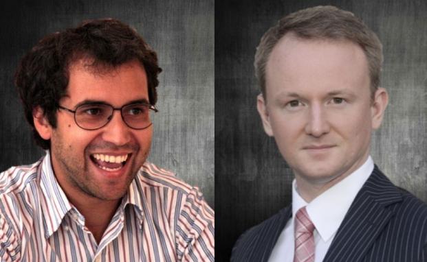 Andrea Vacchino und Markus Schuller von Panthera Solutions