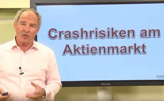 Aufklärungsvideo für Kunden: Crash-Risiken am Aktienmarkt