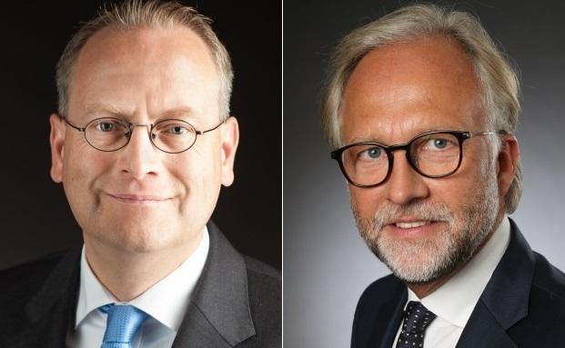 Die neuen Niederlassungsleiter von Merck Finck & Co: Sven Olderdissen (links) und Michael Rietheimer