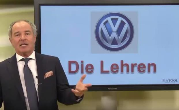 Aufklärungsvideo für Kunden: Lehren aus dem VW-Skandal