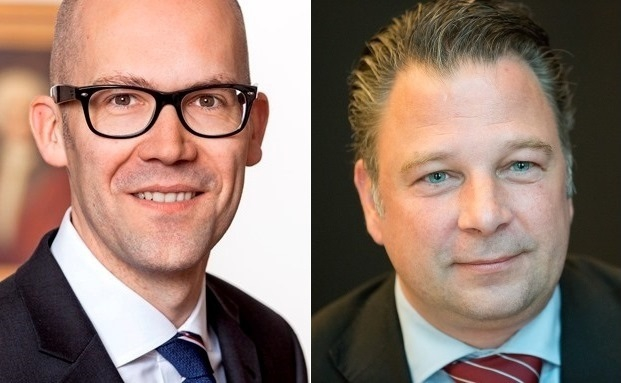 Klaus Naeve (links) und Jörg Seifart