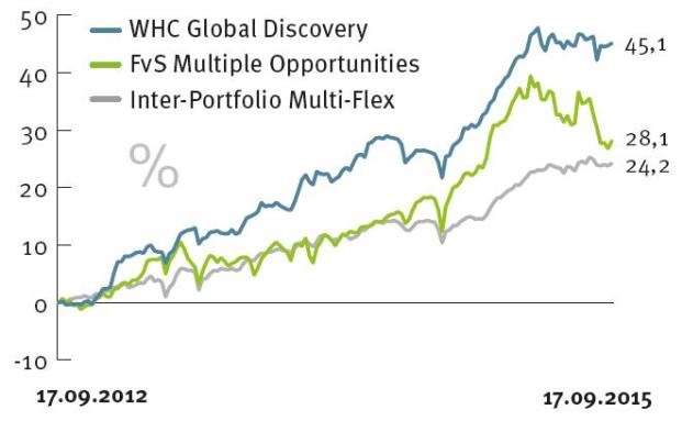 Der Mischfonds WHC Global Discovery von der Hamburger Boutique SPSW Capital hat eine enorm hohe Sharpe Ratio