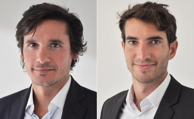 Die zwei Neuen bei Kames Capital: Juan Valenzuela (links) und Timothée Pubellier