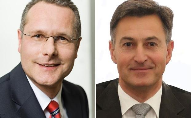 Monega-Geschäftsführer Bernhard Fünger (links) und Senior-Partner der DWPT Mathias Werner
