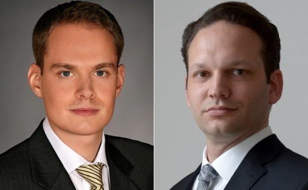Gregor Puchalla (links) und Julian Schillinger