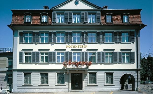 Hauptgebäude der Schweizer Privatbank Notenstein in St. Gallen