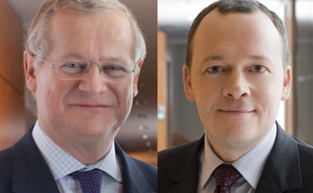 Vincent Strauss (l.) gibt den Vorstandsvorsitz an Arnaud Cosserat ab und wechselt in den Aufsichtsrat von Comgest
