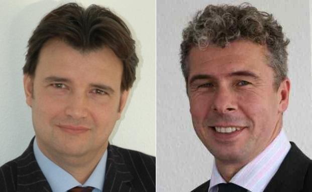 Drazen Odak (links) und Peter Hannemann, Geschäftsführer der Stephan Unternehmens- und Personalberatung und Co-Autoren der PWM-Studie