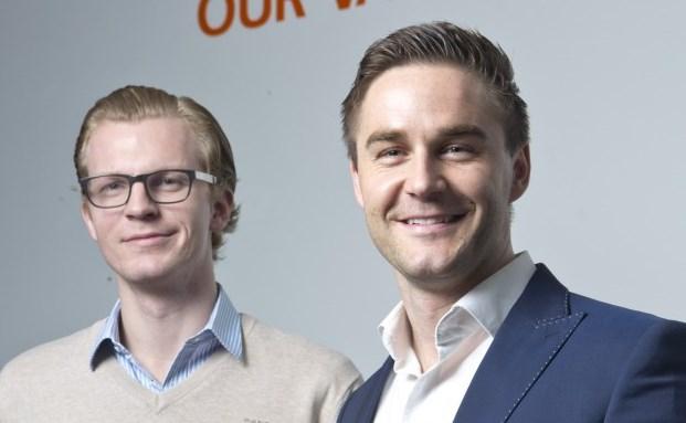 Die beiden Gründer von Kreditech: Alexander Graubner-Müller (l.) und Sebastian Diemer|© Kreditech