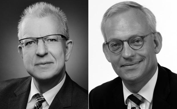 Manfred Furchner (links) und Thomas Stuwe, zwei der drei Neuzugänge bei der Hanseatischen Portfoliomanagement