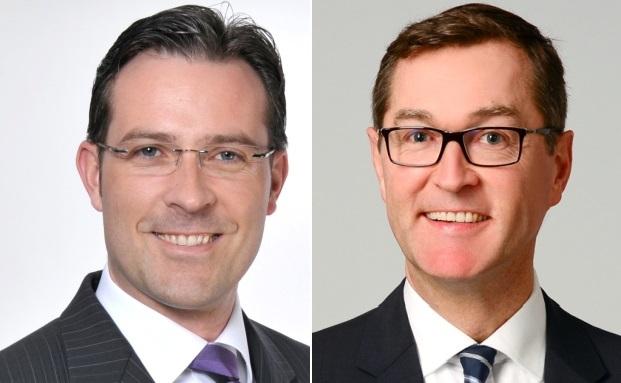 Die neuen im Vertriebsteam: Christof Gunia (l.) und Norwin Schörrig