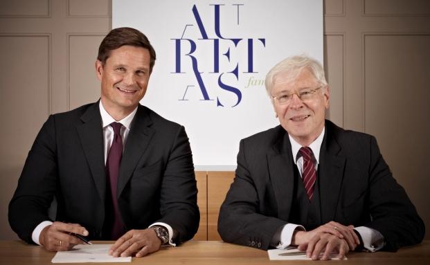 Stehen an der Spitze von Auretas Family Trust: die geschäftsführenden Gesellschafter Randolph Kempcke (links) und Alfred Straubinger