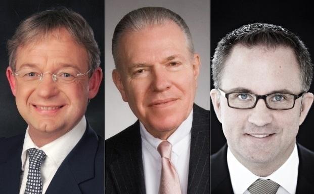 Die Autoren der drei meistgelesensten Fachbeiträge: Richard Kricke, Matthias Junge und Patrick Riske|© private banking magazin