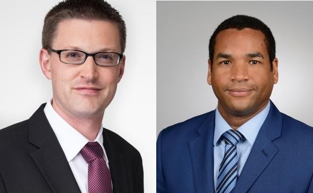 Dirk Bradtmüller und Bernd Klapper (v. l.), neue Vertriebsdirektoren bei M&G Investments