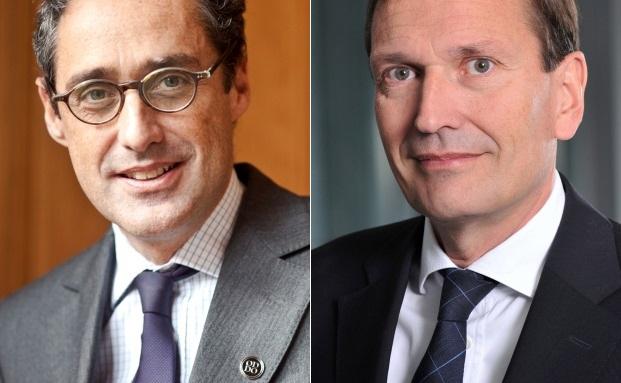Grégoire Charbit (l.) und Werner Taiber ziehen für Oddo & Cie in den Aufsichtsrat der BHF-Bank ein|© Oddo & Cie