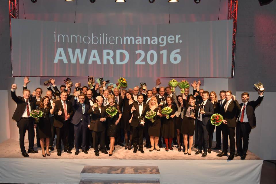 Immobilienmanager Award 2016: Die Besten der Branche