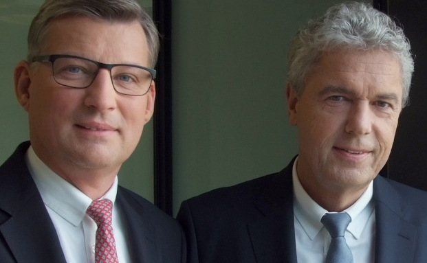 Jörg Finck, Leiter des Haspa Private Banking (li.) und Jörg Ludewig, Generalbevollmächtigter der Haspa