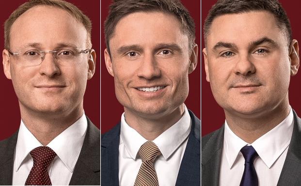 Für GSK in Luxemburg tätig: Philipp Mößner (von l. n. r.), Peter Marcus und Andreas Heinzmann
