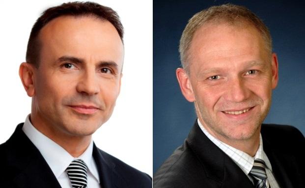 Dr. Pero Mićić (links) und Bernd Hinrichs von der Future Management Group