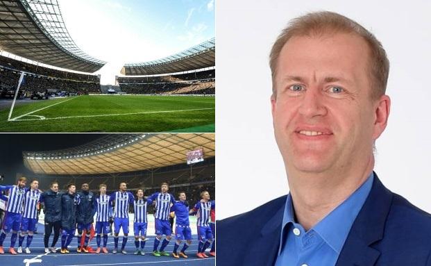 Ingo Schiller (re.), Geschäftsführer von Hertha BSC, im Interview über die erste digitale Finanzierung eines Bundesligisten