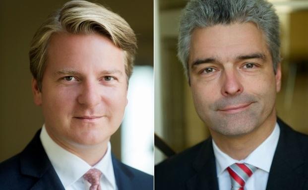 Sind die neuen Investmentchefs: Lars Edler (l.) und Frank Kosiolek