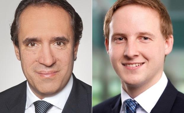 Sven Oberle (li.) und Christian Katzer von der Wirtschaftsprüfungsgesellschaft EY