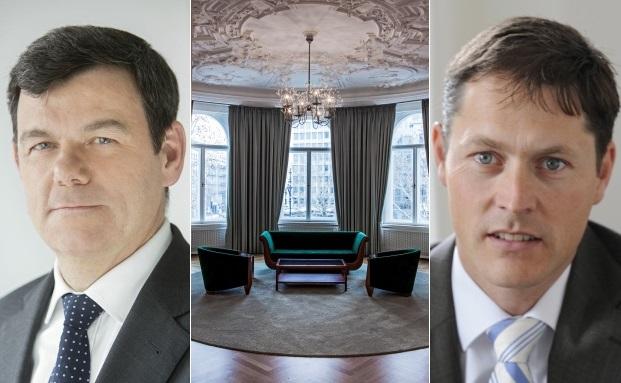 Einige der meistgelesenen Artikel (v.l.n.r.): Klaus Kuder im Interview, Besprechungsräume im Private Wealth Management und ein Fachbeitrag von Maik Paukstadt