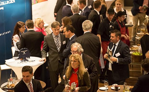 Gut 500 Gäste kamen zum 6. Münchner Vermögenstag der V-Bank|© Anke Leuschke