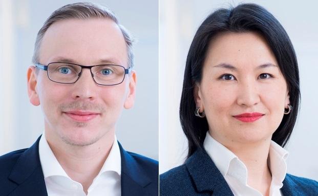 Wechselten Anfang Mai zu Eulenburg Financial Planning: Lars Müller und Dinara Abylgazieva