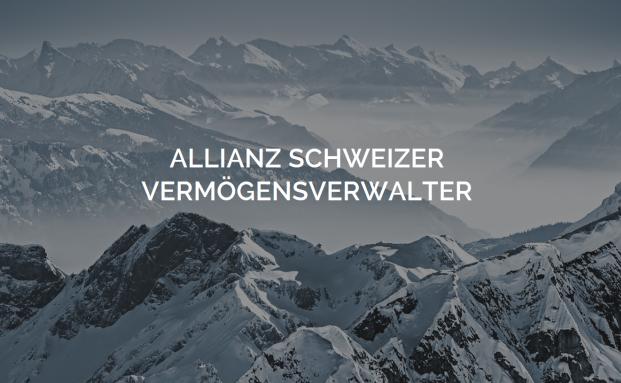 Screenshot der Internetseite der neugegründeten Allianz