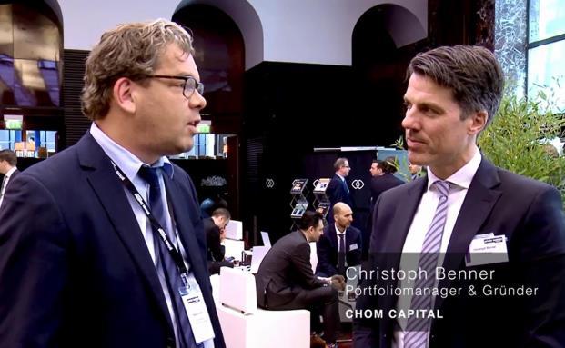 """Christoph Benner, Gründer von Chom Capital: """"Sie brauchen einen stringenten Prozess"""""""