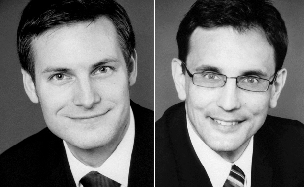 Martin Krause-Ablaß (li.) und Wolfgang Hach von der Unternehmensberatung Roland Berger