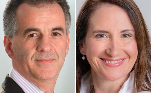 Heinz Angermair (li.) und Angelika Thiedemann