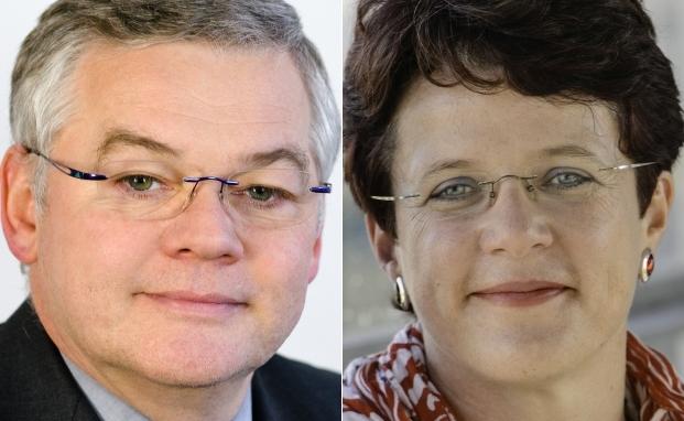 Arbeiten noch bis Ende Oktober 2016 zusammen: Kapitalanlage-Chef Uwe Dyk und die Vorsitzende der Geschäftsleitung Margit Plahl