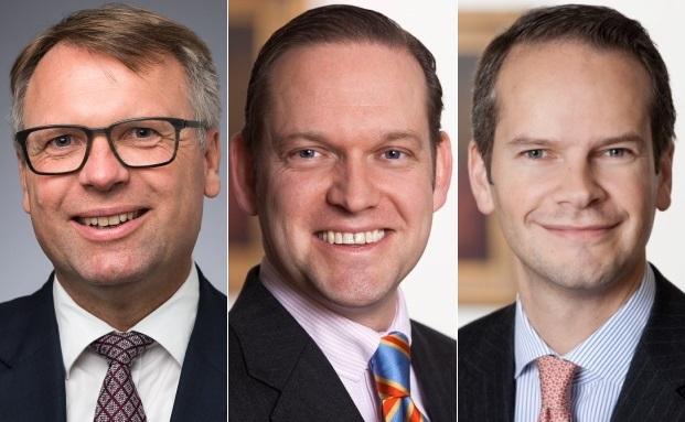 von links: Peter Raskin, Dirk Wehmhöner und Oliver Holtz
