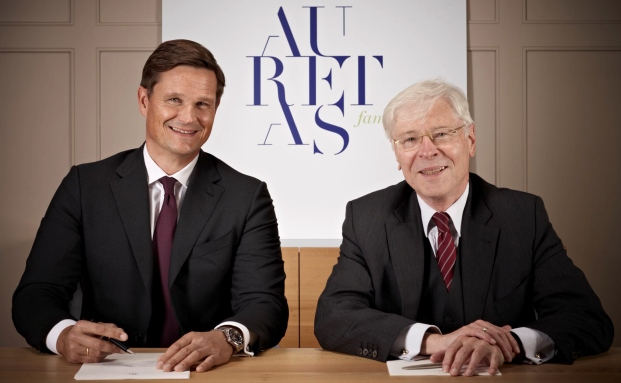 Stehen an der Spitze von Auretas Family Trust: die geschäftsführenden Gesellschafter Randolph Kempcke (links) und Alfred Straubinger |© Auretas Family Trust