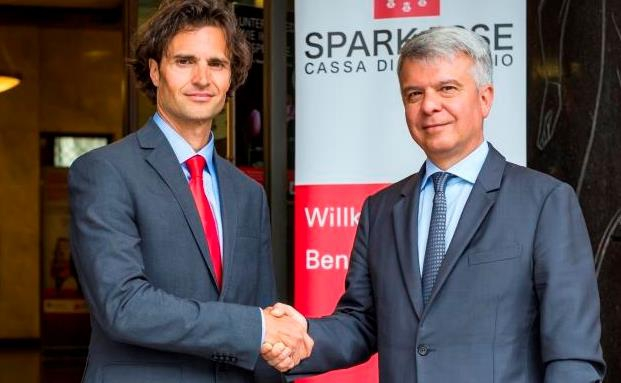 Gianni Rossato (l.) und Nicola Calabrò