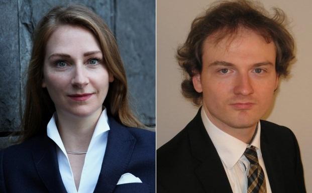 Maren Gräfe und Kay Alexander Schulz von der Wirtschaftsprüfungsgesellschaft PWC