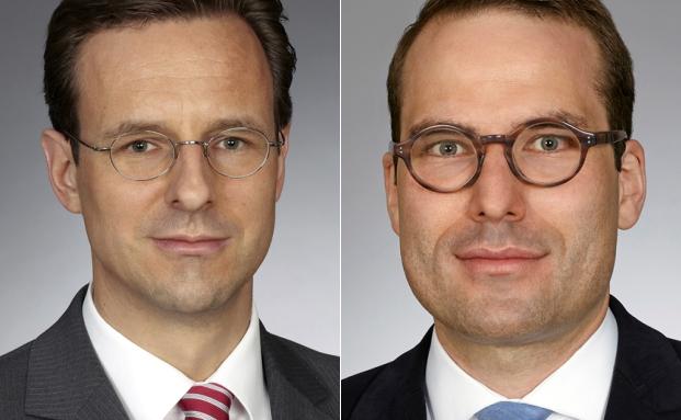 Christoph Schmitt und Anthony Trentin von der Kanzlei Beiten Burkhardt