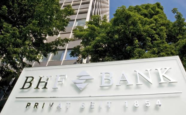 Zentrale der BHF-Bank in Frankfurt