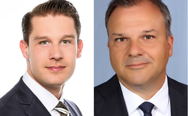 Christian Ziemer, Geschäftsentwicklungs-Manager und Arnd Seybold, Investment-Direktor bei Standard Life Investments (v. li.)