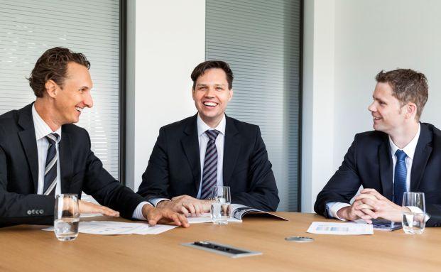 Das neue Multi-Asset-Team von Main First (v. l.): Björn Esser, Timo Teuber und Christian Schütz
