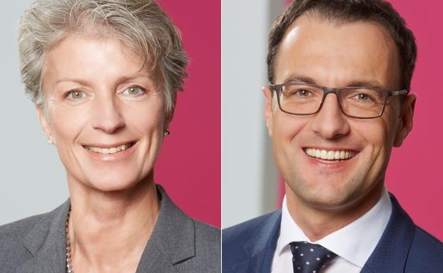 Der scheidende Geschäftsführer Manuel Wirtz (r.) und Geschäftsführerin Annett Marschollek