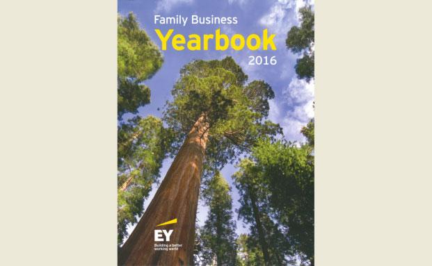 Die dritte Ausgabe des EY Family Business Yearbook |© EY 2016