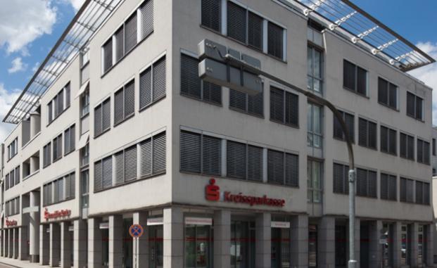 Das Gebäude der Haupstelle Esslingen
