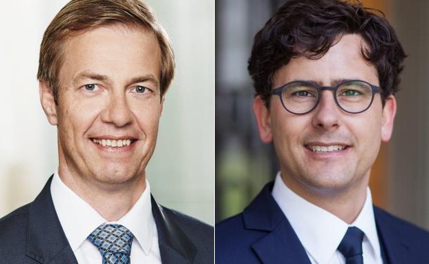 Die beiden neuen Geschäftsführer bei Nötzli, Mai & Partner Dirk van den Berg (li.) und Marcel Megerle