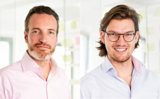 Die beiden Gründer von N26: Maximilian Tayenthal (li.) und Valentin Stalf