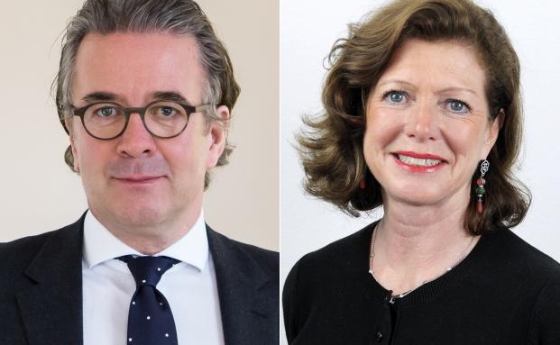 Unternehmensgründer Jens Spudy (li.) und Gesellschafterin Sigrid Bauschert
